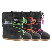 Manbi Kids Snow Boot Neon