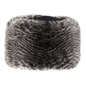 Manbi Fleece Top Faux Fur Cossack Hat