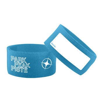 Manbi Jumbo Ski Ties Loose Blue