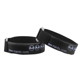 Manbi Standard Ski Ties Loose Black