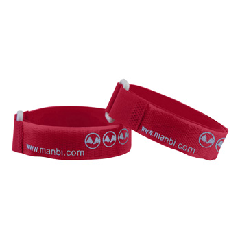 Manbi Standard Ski Ties Loose Red