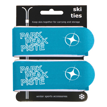 Manbi Pro-X Ski Ties Packed Blue