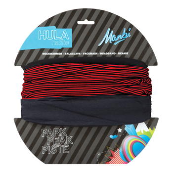 Manbi Hula Halfie Pattern Thin Stripe Red