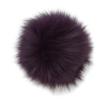 Manbi Real Fur Bobble Purple