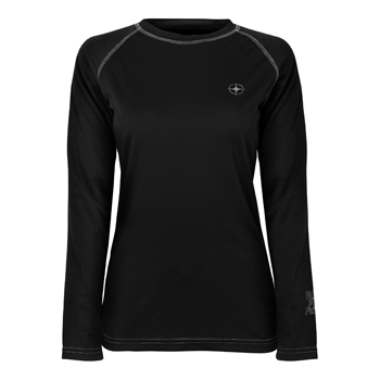 Manbi Ladies Supatec Top Black