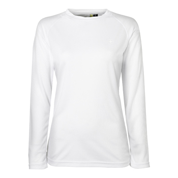 Manbi Ladies Supatec Top White