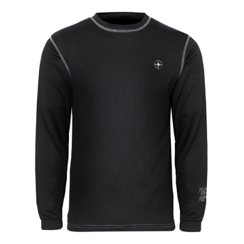 Manbi Mens Supatec Top Black