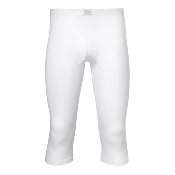 Manbi Mens Supatec Long John 3/4 length White
