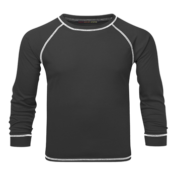Manbi Kids Supatherm Top Black
