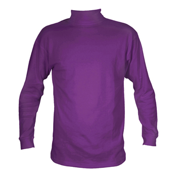 Manbi Adult Cotton Polo Purple