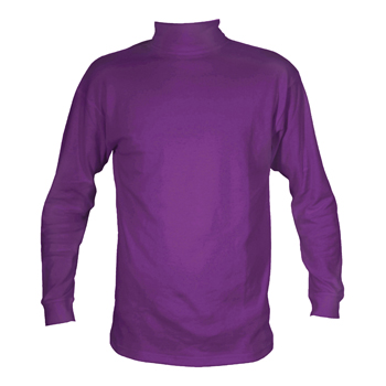 Manbi Kids Cotton Polo Purple