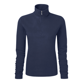 Manbi Ladies Microfleece Zip Navy