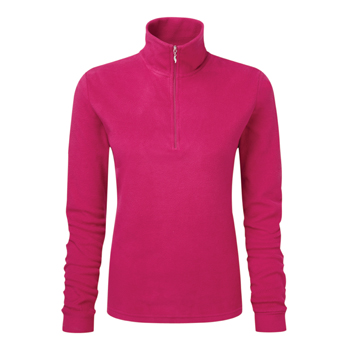 Manbi Ladies Microfleece Zip Raspberry