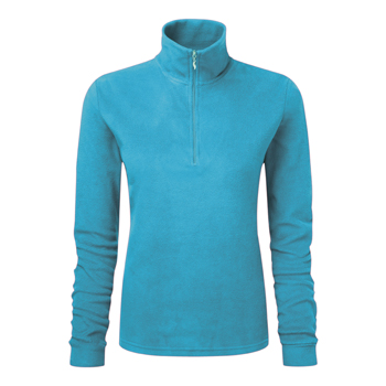 Manbi Ladies Microfleece Zip Turquoise