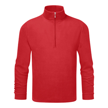 Manbi Kids Microfleece Zip True Red