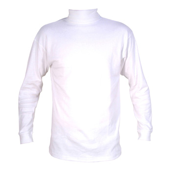 Manbi Adult Supatherm Roll Neck White