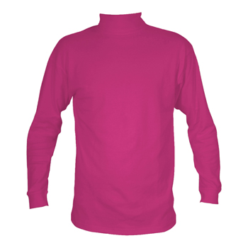 Manbi Adult Supatherm Roll Neck Raspberry