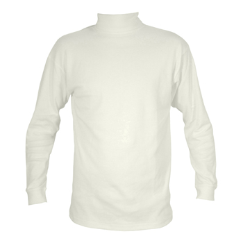 Manbi Kids Supatherm Roll Neck White