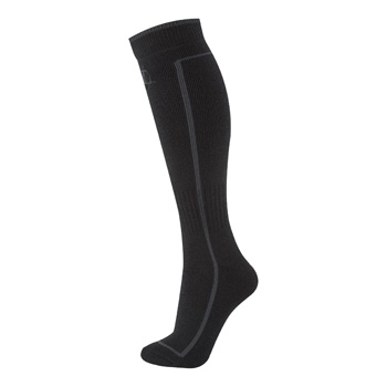 Manbi Performance Ski Sock Black/Rock