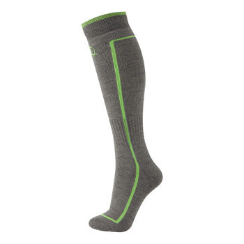 Manbi Performance Ski Sock Rock/Green