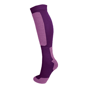 Manbi Snow-tec Sock Fig/Lilac