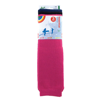 Manbi Essential Tube Sock Triple Pack Ladies