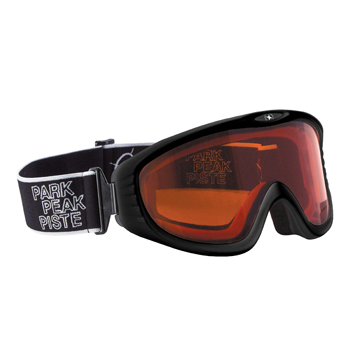 Manbi Vulcan Goggle Black Gloss/Orange