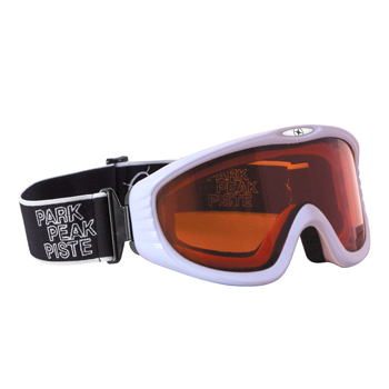 Manbi Vulcan Goggle White Gloss/Orange
