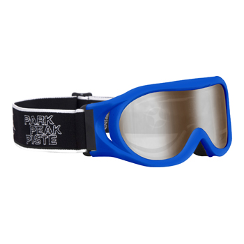Manbi Whizz Goggle Blue Matt/Silver Mirror