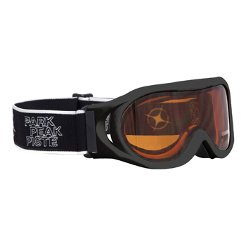Manbi Whizz Goggle Black Gloss/Orange