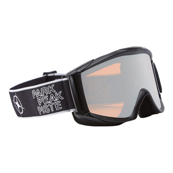Manbi Apollo Goggle Black Matt/Silver Mirror