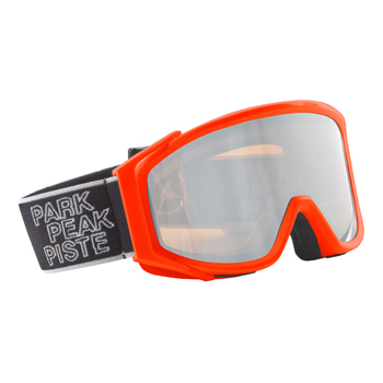 Manbi Spirit Goggle Mirror Orange-Gloss/Silver Mirror