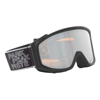 Manbi Spirit Goggle Mirror Black Matt/Silver Mirror