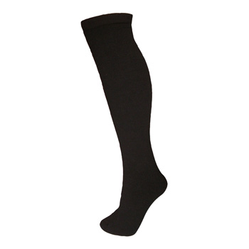 Manbi Adult Ski Sock Black